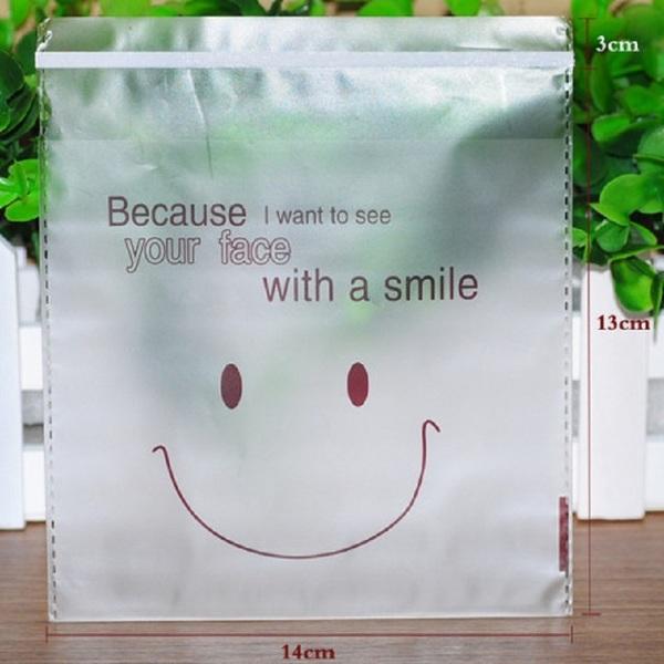 túi nhựa smile