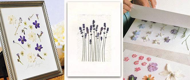 viết những lời chúc nhỏ lên những tấm thiệp hoa đơn giản
