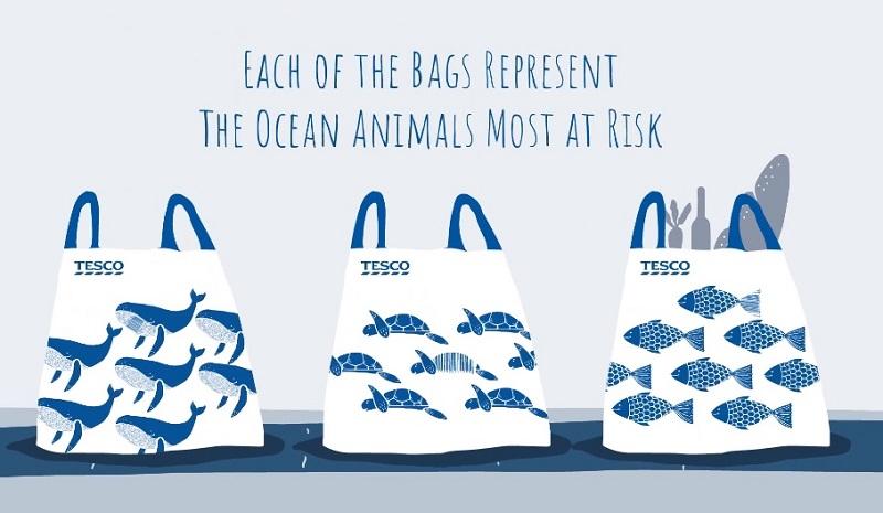 """in túi nhựa """"Unforgettable"""" thân thiện với môi trường"""