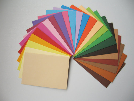 chất liệu in túi giấy đầy màu sắc