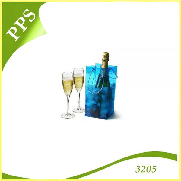in túi nhựa đựng rượu vang
