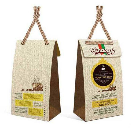 In túi giấy, túi cà phê (coffee) mẫu mã đẹp tại inchatluongviet.vn