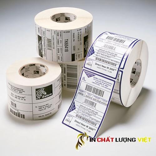 Đề can (decal) dạng cuộn - decal in tem nhãn giá rẻ, chất lượng.