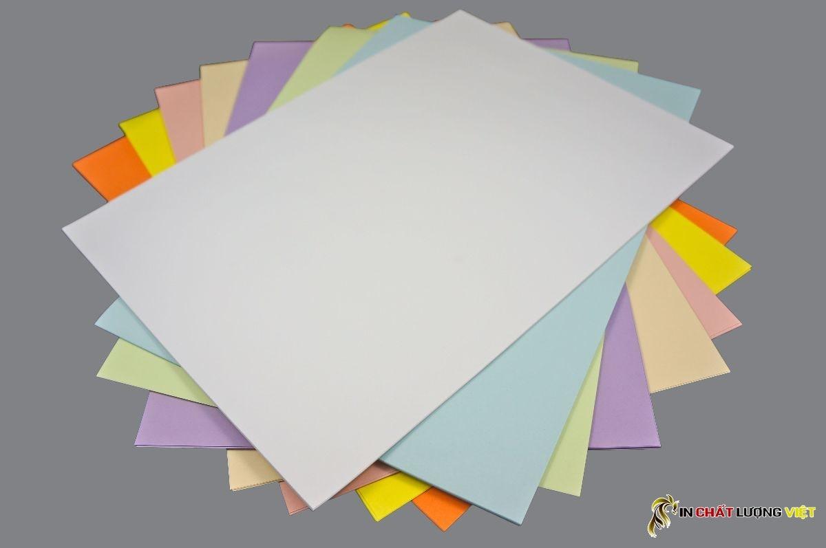 Các loại giấy in - Các loại giấy được sử dụng trong lĩnh vực in ấn