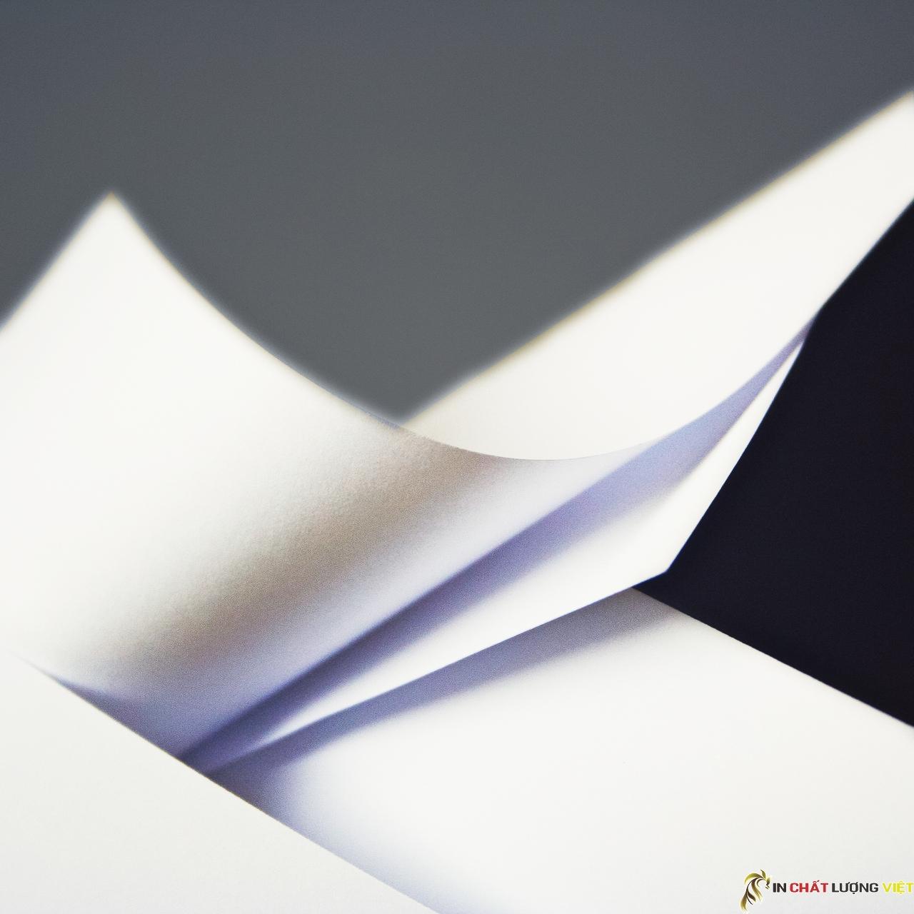 Giấy econo là loại giấy với màu sắc sáng in đẹp, cầm rất sang trọng