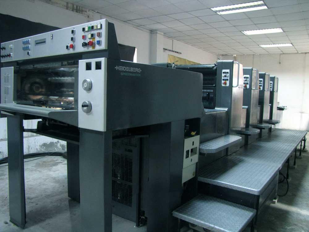 Máy in offset cho phép in với tốc độ nhanh, số lượng lớn và giá rẻ