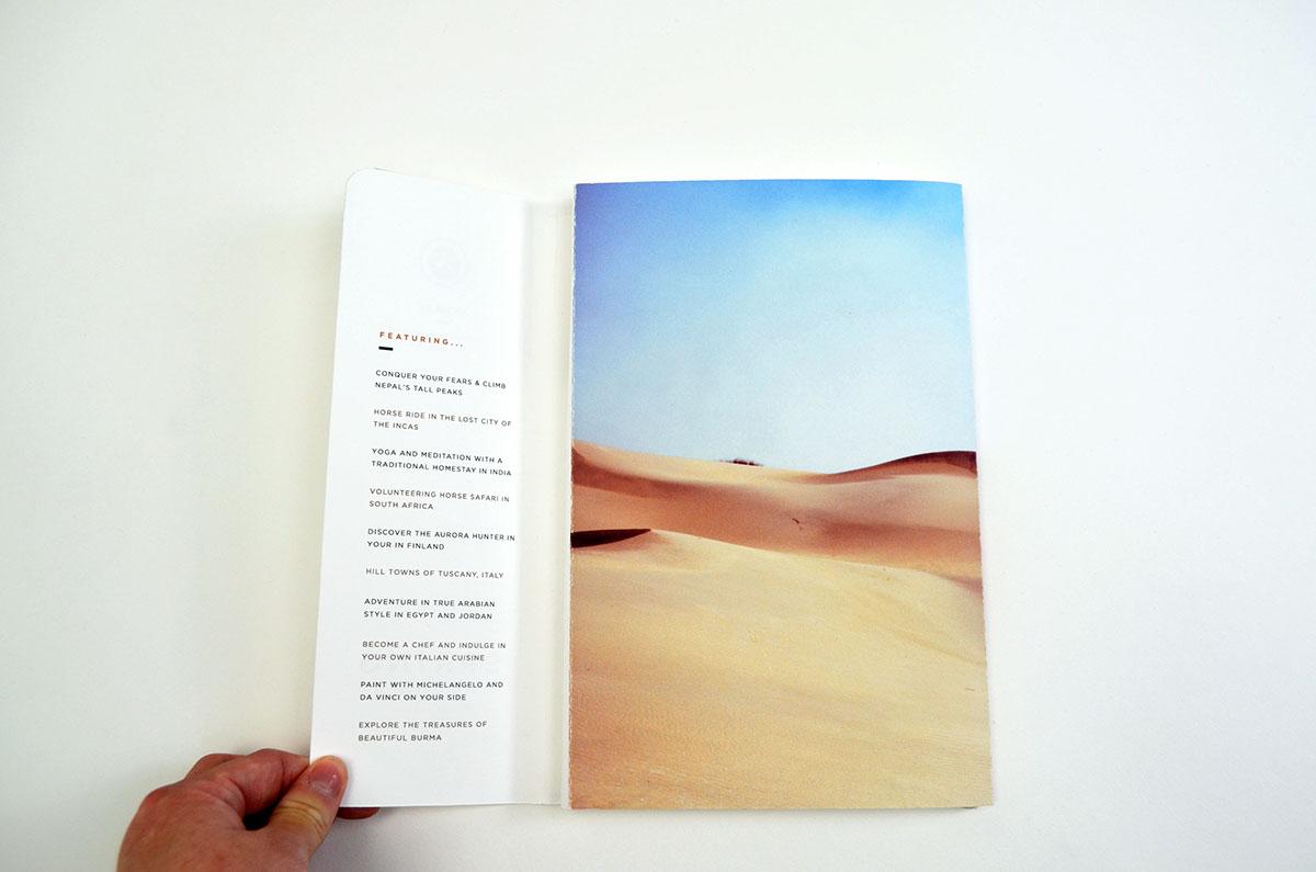 Thiết kế brochure về du lịch