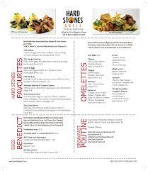 in ấn phẩm menu breakfast chuyên nghiệp