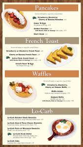 in ấn phẩm menu breakfast bình chánh