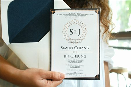 ép kim đặc biệt cho các thiết kế thiệp cưới tại hóc môn