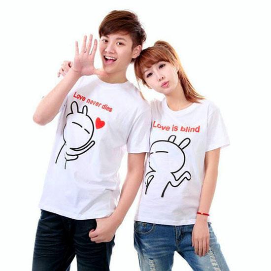 áo thun cặp tình yêu siêu dễ thương 1
