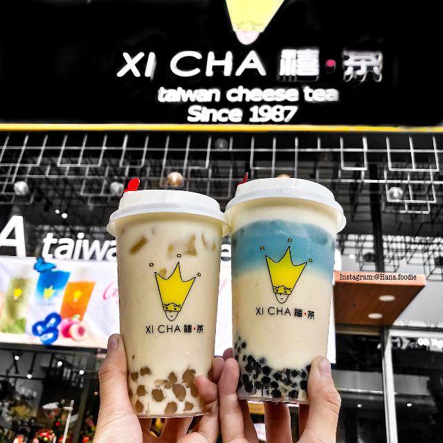 biển hiệu trà sữa dễ thương tại Đà Thành